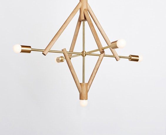 The Lodge Chandelier V designed by Workstead