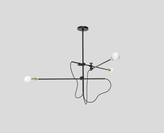The Industrial Chandelier designed by Workstead