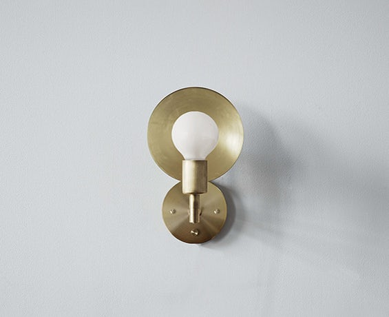 The Orbit Sconce designed by Workstead