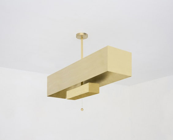 The Block Pendant designed by Workstead