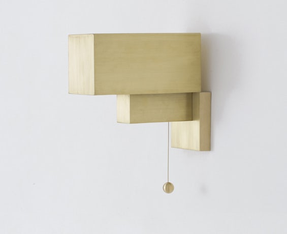 The Block Sconce designed by Workstead
