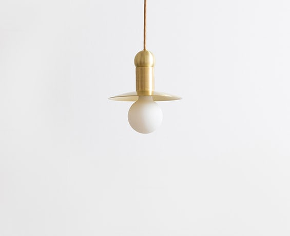 The Orbit Cord Pendant designed by Workstead