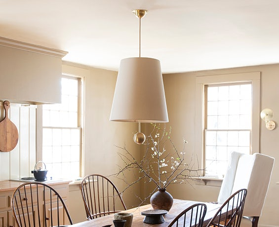 An alternative image of House Cord Pendant Large in use