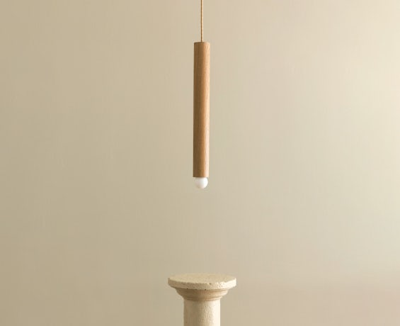 An alternative image of Lodge Cord Pendant Large in use