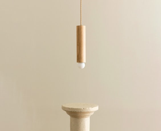 An alternative image of Lodge Cord Pendant Small in use