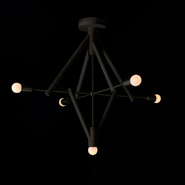 gallery image for Lodge Chandelier V