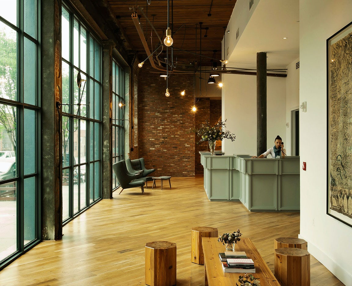 The Wythe Hotel Lobby